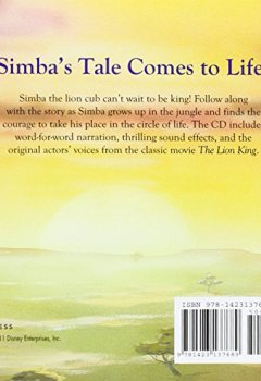 Livres Couvertures de The Lion King Read-Along Storybook and CD