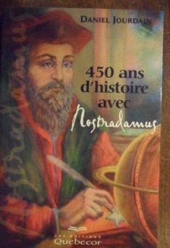 Livres Couvertures de 450 ans d'histoire avec Nostradamus