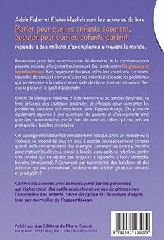 Livres Couvertures de Parler pour que les enfants apprennent à la maison et à l'école