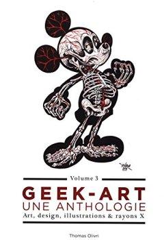 Livres Couvertures de Geek-Art, une anthologie Vol. 3