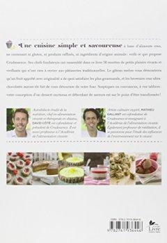 Livres Couvertures de Les Desserts de Crudessence