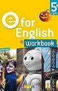 E for English 5e (éd.2017) - Workbook - version papier