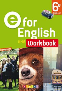 Livres Couvertures de E for English 6e - Worbook