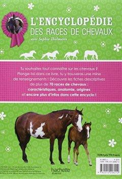 Livres Couvertures de Sophie Thalmann / Encyclopédie des races de chevaux