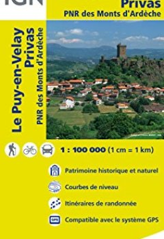 Livres Couvertures de Top100156 le-Puy-en-Velay/Privas 1/100.000