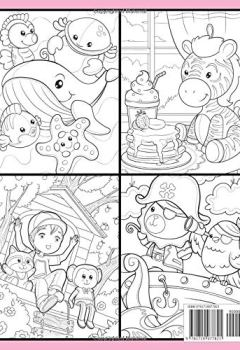 Livres Couvertures de Stuffed Animals: An Adorable Coloring Book with Cute Animals, Playful Kids, and Fun Scenes for Relaxation