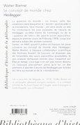 Livres Couvertures de Le concept de monde chez Heidegger