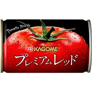 【Amazon.co.jp限定】 カゴメ プレミアムレッド 高リコピントマト使用(食塩無添加)お試しセット 160g×12本