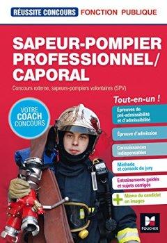Livres Couvertures de Sapeur-pompier professionnel/caporal