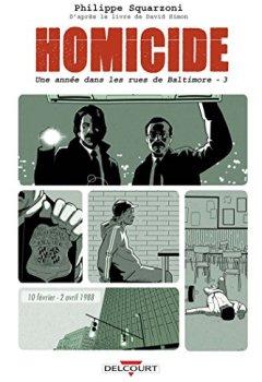 Livres Couvertures de Homicide, une année dans les rues de Baltimore 03