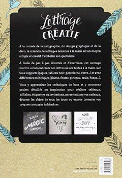 Livres Couvertures de Lettrage créatif