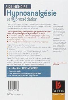 Livres Couvertures de Aide-mémoire - Hypnoanalgésie et hypnosédation: en 43 notions