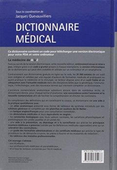 Livres Couvertures de Dictionnaire médical (Ancien Prix éditeur : 46,90 euros)