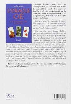 Livres Couvertures de Oracle Gé - Nouvelles méthodes de tirages
