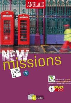 Livres Couvertures de NEW Missions 2de