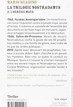 Livres Couvertures de La Trilogie Nostradamus (2)