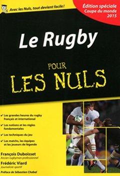 Livres Couvertures de Le Rugby pour les Nuls, édition spéciale Coupe du monde 2015