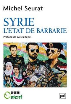 Livres Couvertures de Syrie, l'État de barbarie