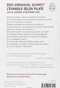 Livres Couvertures de L'Évangile selon Pilate - Grand prix des Lectrices de Elle 2001
