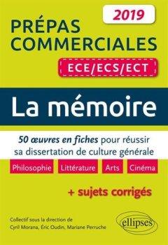 Livres Couvertures de Thème de culture générale. 50 oeuves en fiches pour réussir sa dissertation. Prépas commerciales ECE/ECS/ECT 2019