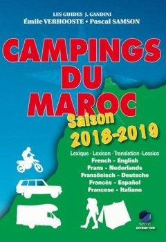 Livres Couvertures de Campings du Maroc 2018-2019