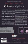 Livres Couvertures de Chimie analytique
