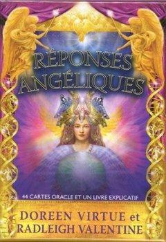 Réponses angéliques : 44 cartes oracle et un livre explicatif de Indie Author