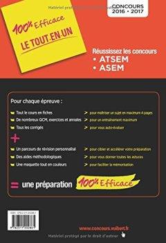 Livres Couvertures de Concours ATSEM et ASEM - Catégorie C - Préparation complète et rapide à toutes les épreuves - Concours 2016-2017