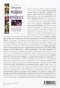 Livres Couvertures de Dictionnaire des pierres et minéraux
