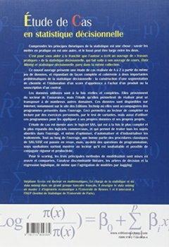 Livres Couvertures de Etude de cas en statistique décisionnelle