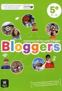 Livres Couvertures de Anglais 5e A1-A2 Bloggers : Livre de l'élève