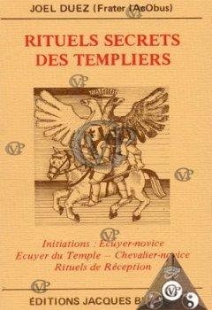 Livres Couvertures de Rituels secrets des Templiers