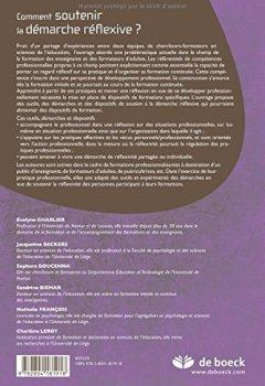 Livres Couvertures de Comment soutenir la démarche reflexive outils et grilles d'analyse des pratiques