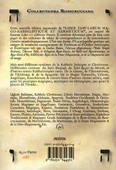Livres Couvertures de LIBER TABULARUM MAGO-KABBALISTICUM ET HERMETICUM (Collectanea Rosicruciana)