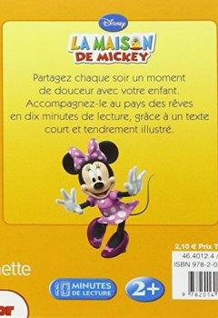 Livres Couvertures de La Maison de Mickey, Une journée formidable, MON HISTOIRE DU SOIR