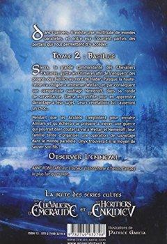 Livres Couvertures de Les Chevaliers d'Antarès - tome 2 Basilics