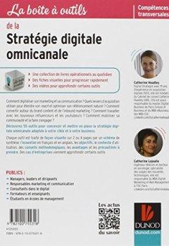 Livres Couvertures de La boîte à outils de la stratégie digitale omnicanale - 55 outils et méthodes