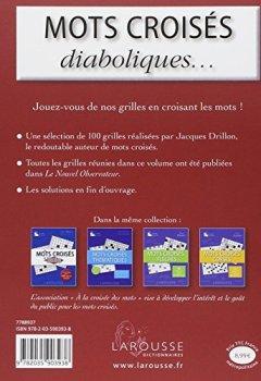 Livres Couvertures de Les Mots croisés de Jacques Drillon