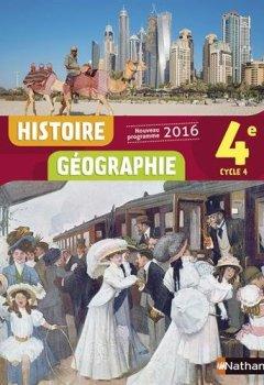 Livres Couvertures de Histoire-Géographie 4e - Nouveau programme 2016