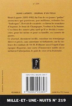 Livres Couvertures de Journal d'un poilu