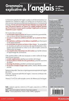 Livres Couvertures de Grammaire explicative de l'anglais