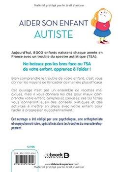 Livres Couvertures de Aider son enfant autiste : 50 fiches pour le soutenir et l'accompagner