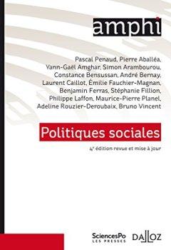 Livres Couvertures de Politiques sociales - 4e éd.