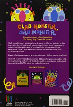 Livres Couvertures de Glad Monster, Sad Monster: A Book about Feelings