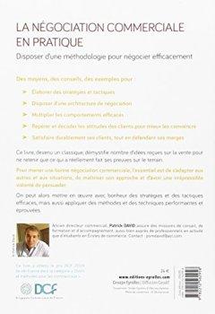Livres Couvertures de La négociation commerciale en pratique: Prix DCF Paris 2009.