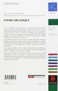 Livres Couvertures de Chimie organique : Les grands principes - 2ème édition
