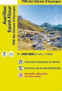 Livres Couvertures de Aurillac St-Flour : 1/100 000