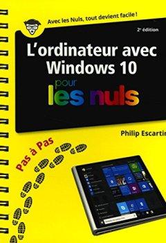 Livres Couvertures de L'Ordinateur pour les Nuls Pas à Pas, 3e édition