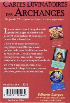 Livres Couvertures de Cartes Divinatoires des Archanges