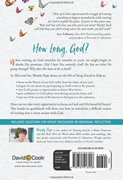 Livres Couvertures de Wait and See: Finding Peace in God's Pauses and Plans